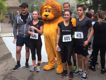Run for Tigers avec la team EMC
